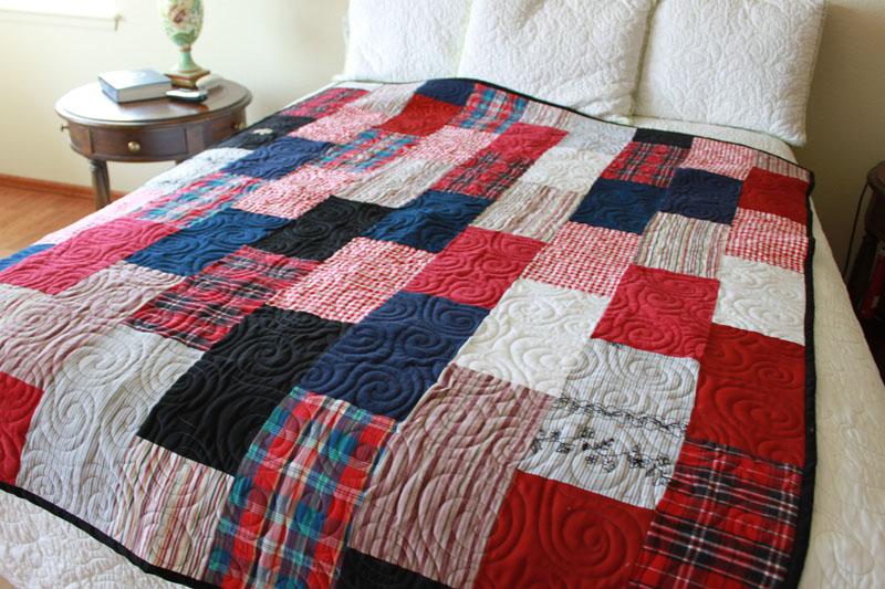 Custom Quilts - Memory Quilts : memorial quilt ideas - Adamdwight.com