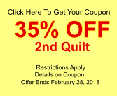 35% Off 2nd Quilt