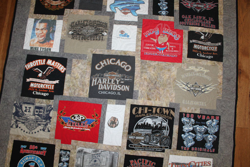 harley t-shirt quilts